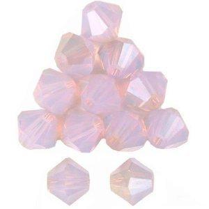 Swarovski Crystal 5328 4mm XILION Violet Opal Bicones - 48 Pack