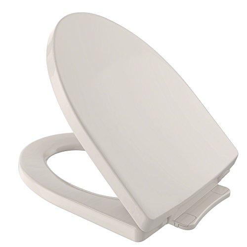 TOTO SS214#12 Soiree SoftClose Elongated Toilet Seat, Sedona -