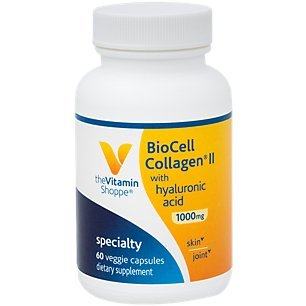 The Vitamin Shoppe Biocell Collagen II with Hyaluronic Acid 1000mg, Supports Skin and Joint Health, Promotes Joint Comfort and Stimulates Cartilage Producing Cells (60 Vegetable Capsules) Review