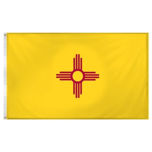 3x5 State of New Mexico Flag 3x5 House Banner Super Polyeste