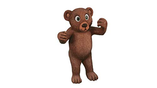 (LM Treasures Bear Teddy 4.5 ft Over Sized Toy Prop Decor Resin Statue)