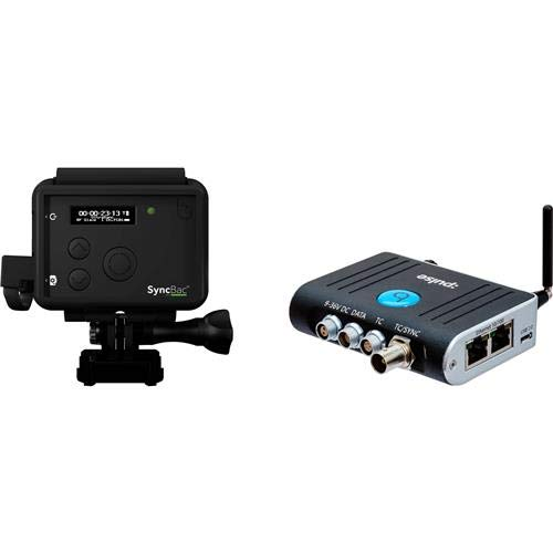 TimeCode Systems :Pulse Multi-Functional Timecode Generator/MetaData Hub & Device Control Center and 2X SyncBac PRO Timecode Sync System for GoPro Hero6 Cameras
