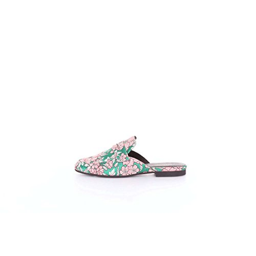 ESSENTIEL ANTWERP NAMORY Sabot Women Pink and Green 5SgvrX6