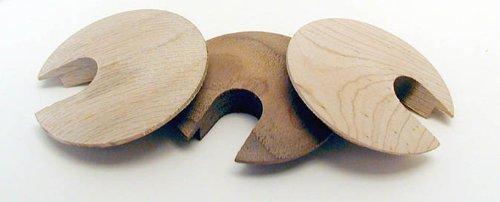 Smithwood Wood Grommet 1 3/4'' Oak