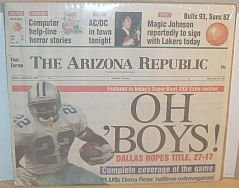 Arizona Republic Newspaper Article