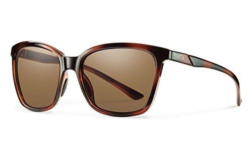 Smith Optics Colette Chromapop Polarized Sunglasses, Tortoise, ()