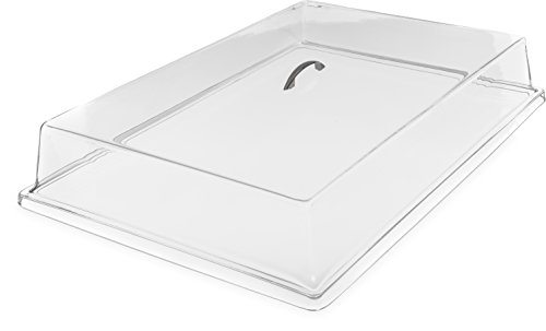 Carlisle SC2507 Acrylic Pastry Tray Cover, Clear ()