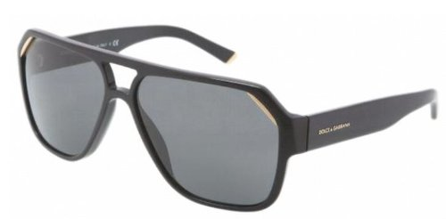 Dolce & Gabbana Sunglasses - DG 4138 / Frame: Shiny Black Lens: - Glass Frames Gabbana And Dolce