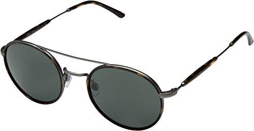 Giorgio Armani  Men's 0AR6056J Matte Gunmetal/Green Sunglasses (Armani Sunglasses Giorgio)