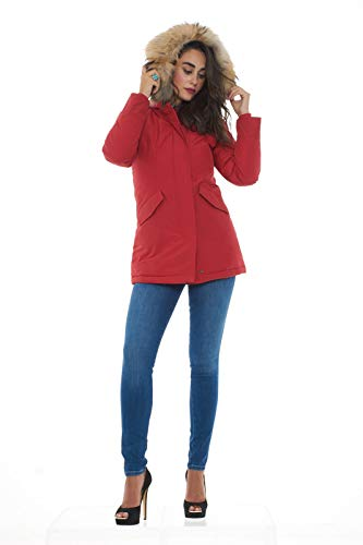 Parka Rfk Artic Donna Red Woolrich Wwcps1447 W's Grigio Giubbotto tAqwPH