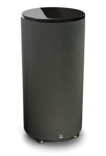 SVS PC-2000 Subwoofer (Piano Gloss Black) - 12-inch Driver, 500-Watts RMS, Ported Cylinder Subwoofer