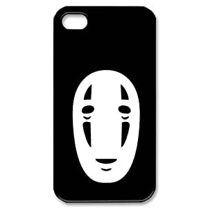 Popular No Face of Spirited Away Pretty And Popular iPhone 4, 4s Case Hard iPhone Cover Case