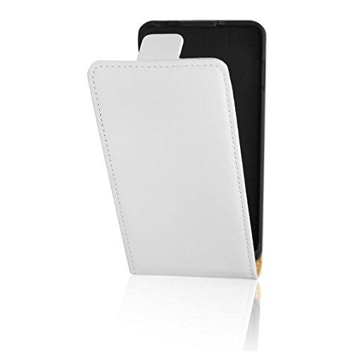 Flip Hülle Apple Iphone 6 Plus / 6S Plus Hülle in Flipstyle Handytasche für Apple Iphone 6 Plus / 6S Plus Tasche weiss