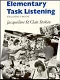 Elementary Task Listening, Jacqueline St. Clair Stokes, 0521275822