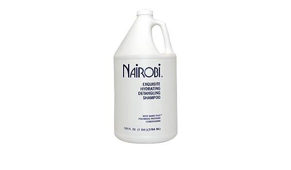 Amazon com: Nairobi Exquisite Hydrating Detangling Shampoo for