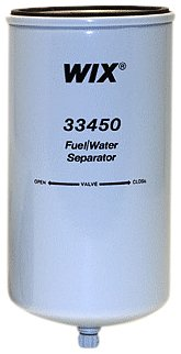 Pack of 1 33450 Heavy Duty Spin On Fuel Water Separator WIX Filters