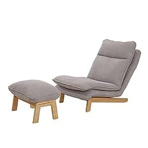 Amazon.com: GKPLY Lazy Couch con reposapiés – Sillón de ...