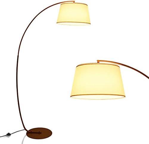 Tangkula Arc Floor Lamp