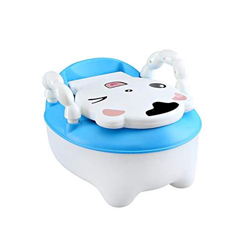 KathShop Baby Potty Toilet Portable Cartoon Baby Car Potty Child Pot Training Girls Boy Potty Chair Kids Toilet Seat Children's Pot