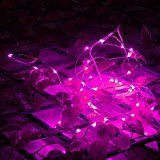 WD 33ft/10m Starry Fairy String Light Decor Rope Lights For Seasonal Decoration Home ,Holiday, Wedding, Party (Pink) from WD