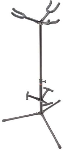 stagg sg a300hbk adjustable height triple hanging guitar stand with folding legs tops and back. Black Bedroom Furniture Sets. Home Design Ideas