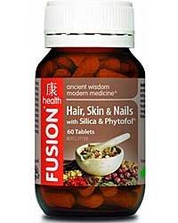Fusion Health Hair, Skin and Nails 90 Tablets (Nail Tonic)