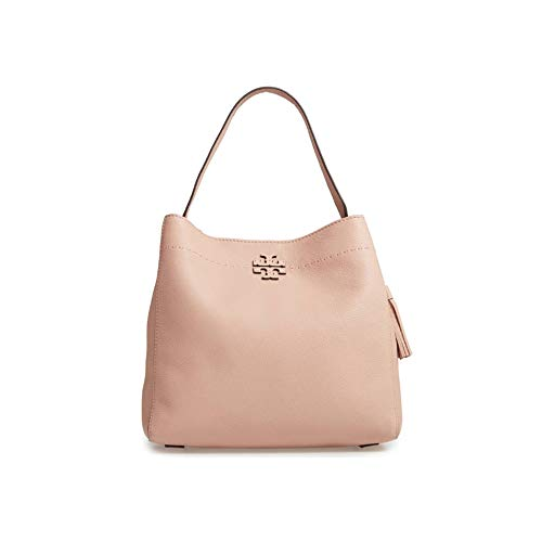 bca282bffba Jual Tory Burch Leather McGraw Hobo Handbag Pink -