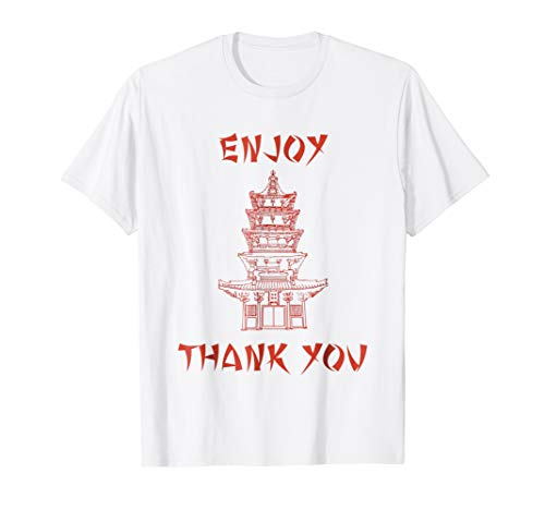 Chinese Food Take Out Box Costume T shirt -