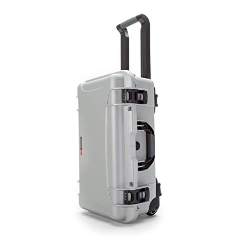 Nanuk 935 Waterproof Carry-On Hard Case with Wheels Empty - Silver