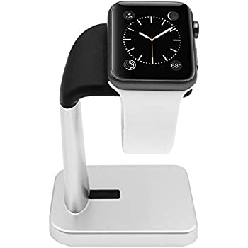 Amazon.com: HAPTIME Apple Watch Stand Charging Dock and Cell ...