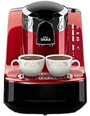 Arzum Okka - Turkish Coffee Machine - Red/Chrome - OK002