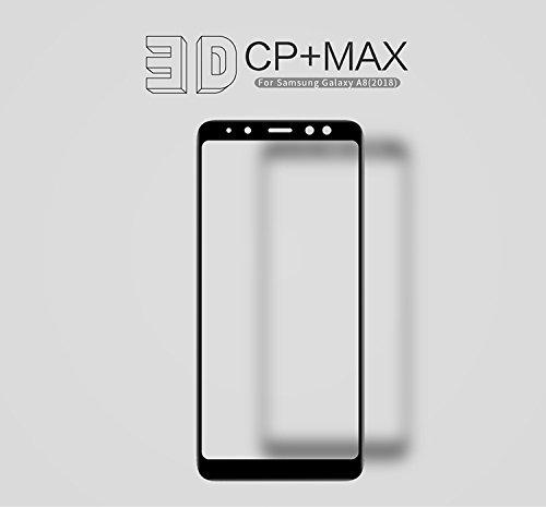Película de Vidro para Galaxy A8 2018 (5.6 Pol), Nillkin Amazing CP+ MAX[9H][0.3MM][CURVA][VIDRO TEMPERADO], Samsung Galaxy A8 2018 (A530 Tela 5.6