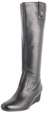 Libby Edelman Women's Paula Knee-High Boot,Black,10 M US