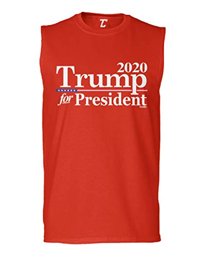 (Trump for President 2020 - Re-Election Men's Sleeveless Shirt (Red, Large))