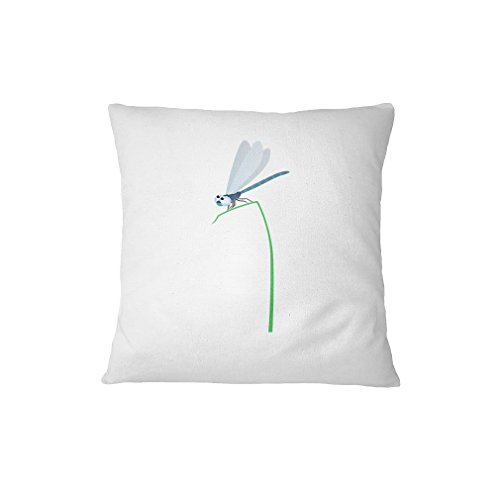 Dragon-Fly on Grass Animals Sofa Bed Home Decor Pillow Cover FunnyLife