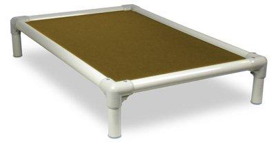 Kuranda Almond PVC Chewproof Dog Bed – Medium (35×23) – Cordura – Khaki, My Pet Supplies