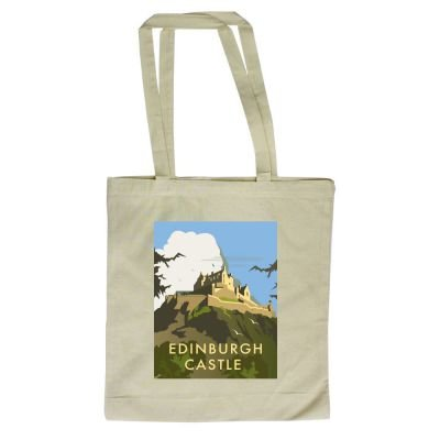 x Illustrator 420mm Castle Edinburgh Thompson with design By Bag of Tote 380mm Art247 Dave Shopper TOqwwBg