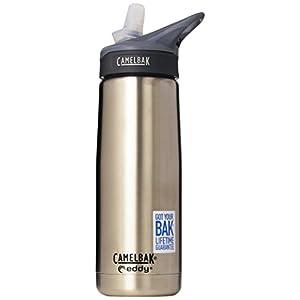 Camelbak Adult Eddy Stainless Insulated Bottle (16-Ounce, 0.5-Liter Logo)