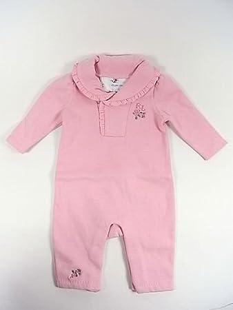 faec8a5ce7af6 Ralph Laurenラルフローレンベビーキッズ子供服女の子用長袖厚手カバーオール(ピンク)