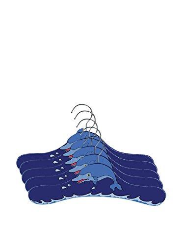 Kidorable Dolphin Toddler Hanger Set, Medium 5