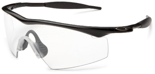 oakley z87 sunglasses  amazon: oakley industrial m frame black / clear lens men's glasses: clothing