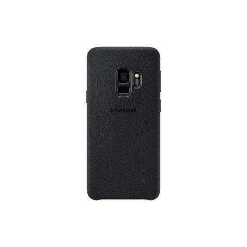 Official OEM Samsung Galaxy S9 Alcantara Cover (Black)