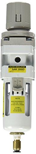 PneumaticPlus SAW3000M N03BDG Regulator Piggyback NPT Auto
