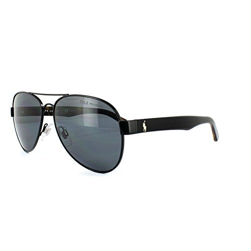 Ralph Lauren POLO 0PH3096 Gafas de sol, Semi Shiny Black, 59 ...