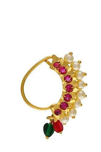 Buy Girlz Jai Malhar Serial Banu Nath Gold Plated Non Pierced
