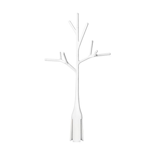 (Boon Twig Grass and Lawn Drying Rack Accessory, White,Twig White)