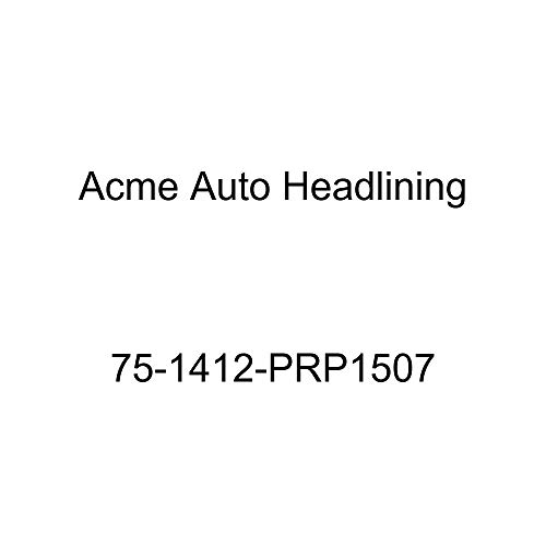 Acme Auto Headlining 75-1412-PRP1507 Red Replacement Headliner (1975 Chevy Caprice and Impala Custom 2 Dr Hardtop w/Qtr Window (5 Bow))