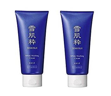 Kose Sekkisui White Washing Cream - 80g ( Set of 2 ) Kose Sekkisei Cleansing Cream