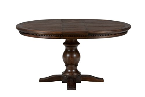 Jofran: 678-60TBKT, Geneva Hills, Round to Oval Dining Table, 48