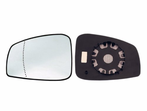 Blue Alkar 6461231 Outside Aspherical Mirror Glass with Holder